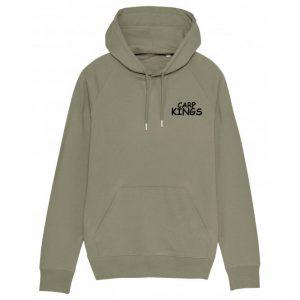 carp kings big logo upper chest hoodie